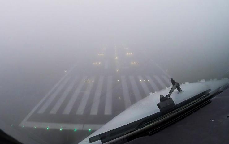 Approach in fog