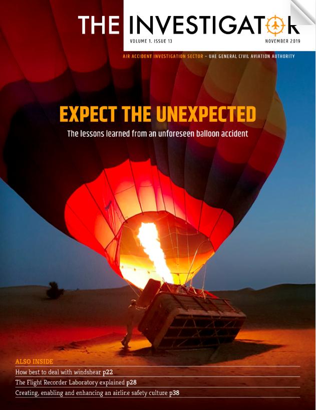 Investigator magazine
