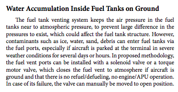 Fuel Contamination on the Large Transport Airplanes Behbahani-Pour MJ* and Radice G