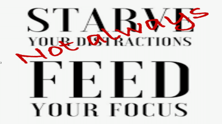 Focus vs Distraction